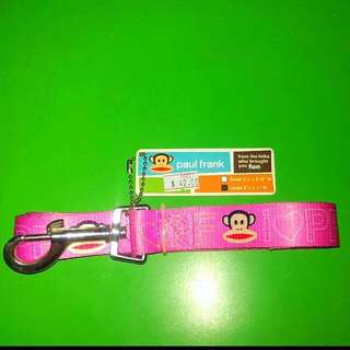 BNWT Authentic Pink Paul Frank Dog Leash (Large)