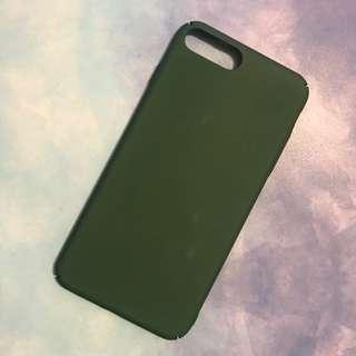軍綠色Iphone7plus全包硬殻