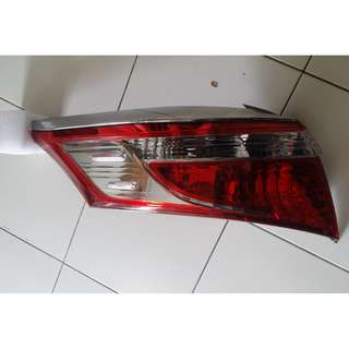 Toyota VIOS 2014 TAIL LAMP LIGHT BAR