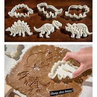 Little Dino Fossil Cookies Cutter Set - 9R1