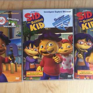 Sid the Science Original DVDs