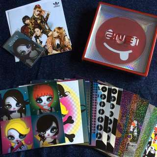 2NE1 - 2nd Mini Album (Korean Ver.)