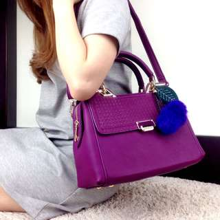 $55  2in1 Fashion Natalia Embossed Bag