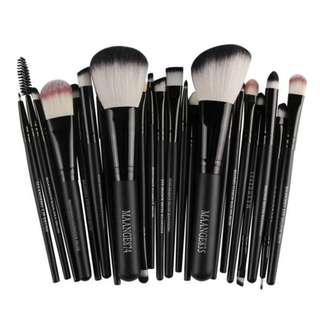 22 Pcs New Makeup Brush Set Powder Foundation Eyeshadow Eyeliner Lip Cosmetic Brush Kit Beauty Tools