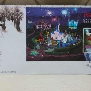 Disneyland grand opening 2005 首日封