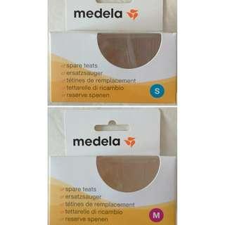 BN S&M Medela Milk Bottle Spare Teats