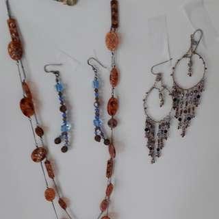 Necklace & Earrlings