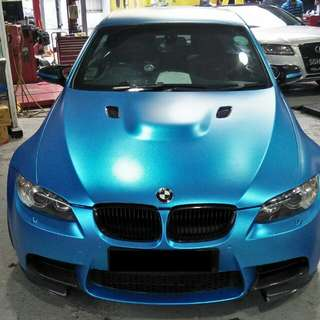 BMW CAR STICKER WRAP