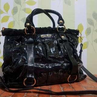 Miu Miu Calfskin Leather *Repriced