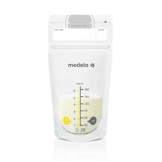 Medela Breast Milk Storage Bags 180ml, 50 pcs