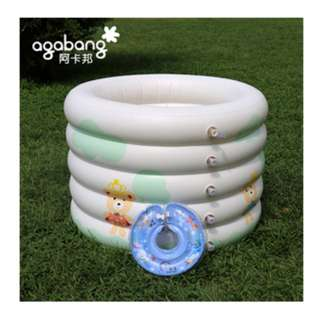 Agabang Baby Swimming Pool / Inflatable / Swimming Tank / Bucket / Indoor Home Swimming