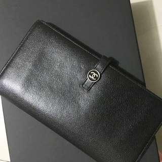 中古Chanel Wallet 長銀包 Vintage CC Logo 非 Celine Ysl Prada Hermes
