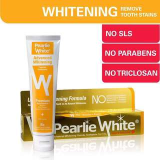 BUY 2 GET 1 FREE Pearlie White Advanced Whitening Tooth Paste