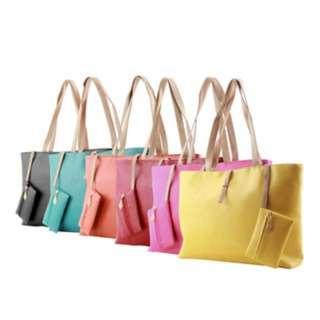 [PO71]Women PU Leather Tote Shoulder Bags Hobo Handbags Satchel Messenger bag