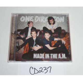 Made in the AM - One Direction Album CD 2015