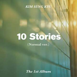 [PREORDER] Kim Sunggyu - 10 Stories (1st Album)