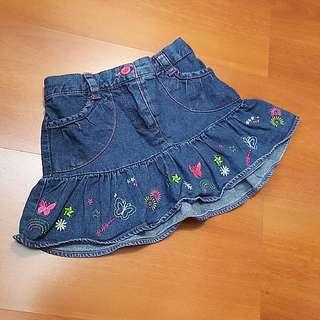 Just4kids denim mini skirt