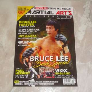 Bruce Lee 李小龍 Book Special 2018 Bruce Lee Forever Checklist Martial Arts Illustrated UK Sold Out