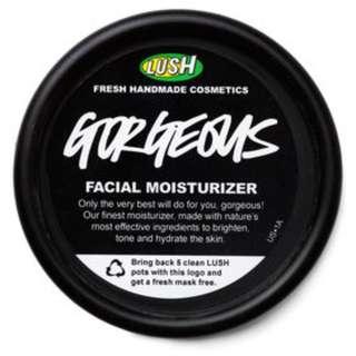 Lush Gorgeous Facial Moisturiser Moisturizer