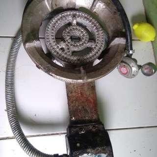 kompor gas komersil+regulator
