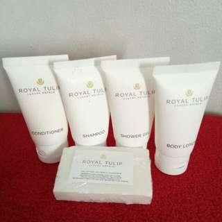 Sabun shampo hotel