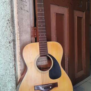 Suzuki acoustic guitar made in japan
