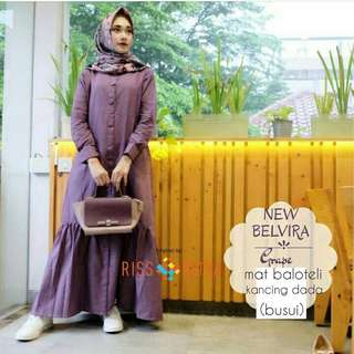 INS - 0218 - Dress Busana Muslim Belvira Maxy