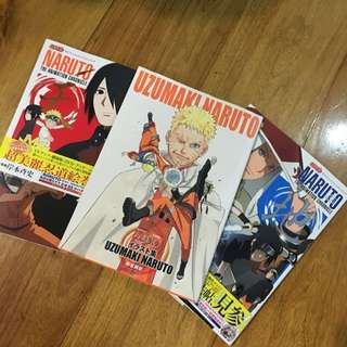 Naruto Anime Artbooks