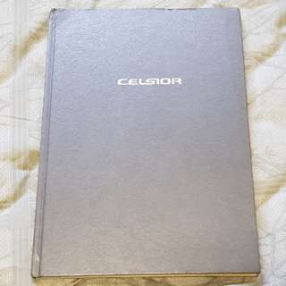 toyota celsior lexus ls430 LS jdm sales brochure material hardcover hardback book catalogue