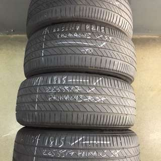225/55/17 michelin primacy3 4pc used tyre $50pc