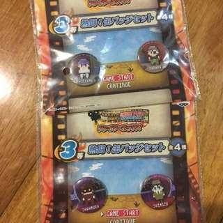 Haikyuu! Anime Button Pins