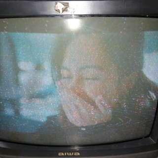 """Aiwa 21"""" TV"""