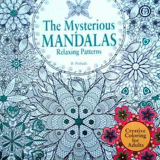 Mandalas relaxing patterns