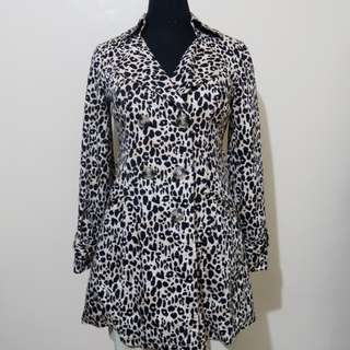 Pre-loved Forever 21 Leopard Print Coat