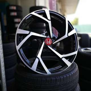 "Honda NSX design 18"" Wheels"