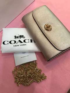 Original coach women long clutch wristlets handbag wallet