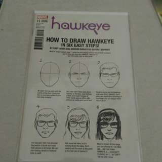 Marvel hawkeye comic variant