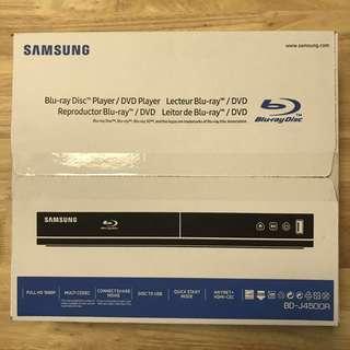 Brand New Samsung Blu-Ray Dvd Player BD-J4500R