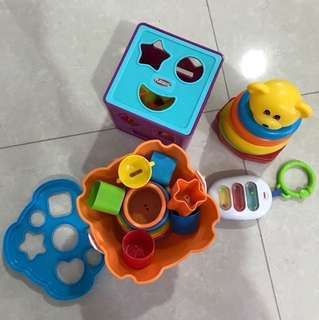 S$10 for all- Assorted Baby/Toddler Toys