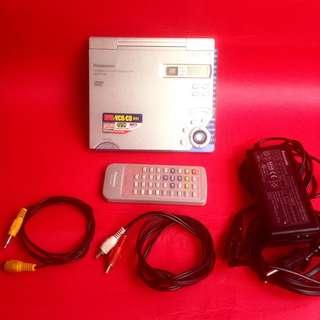Panasonic DVD/VCD/CD/mp3 player