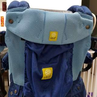 PRELOVED Lillebaby Complete Airflow Baby Carrier in Blue/Aqua (Standard Size)