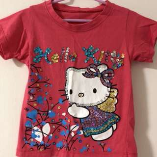Sequined Hello Kitty Shirt