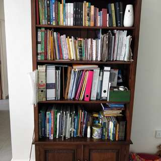 Beautiful Solid Wood Handcraft Bookshelf