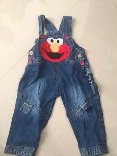 Overall Elmo bisa untuk Lelaki / Perempuan