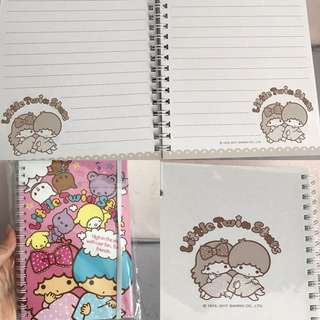 Last PCS Left Little Twin Stars Hard Cover Note Book