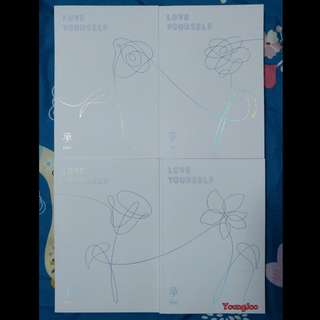 BTS Love Yourself Album Unsealed
