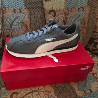 Charity Sale! Authentic Puma Shoes Turin NL Grey size 9.5US Men Brand New #freedelivery3