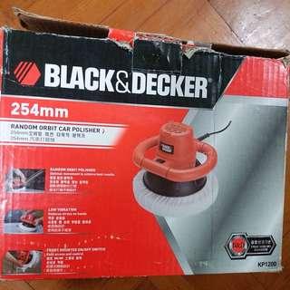 BLACK&DECKER 美國百工專業級車用打蠟機