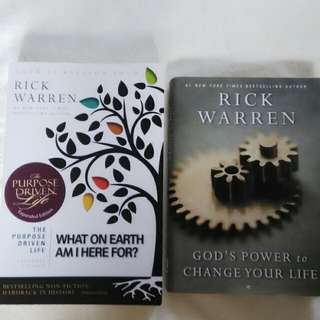 Rick Warren books