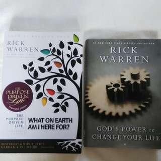 Rick Warren books